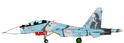 Sukhoi Su-30 (Flanker) in colours